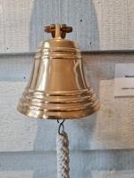 Signalglocke Ø 12,5 cm, mit Halterung und Bändsel